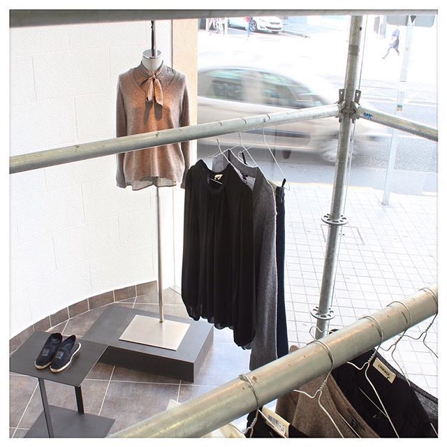 Experience makes me tune the steps until I find the collections I want. This week L' Agence. @lagencefashion #arropame #conceptstore #bilbao #fashion #fw2015 #lagencefashion