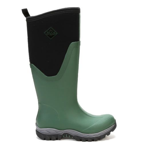 Muck Boots Arctic Sport II Tall Black And Green