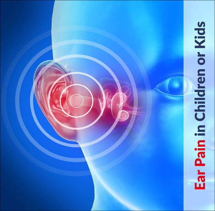 Ear Pain in Children or Kids