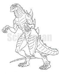 Godzilla the Series copyright 1998 Toho, Co: 1998 Toho, Series Copyright, Copyright 1998, Imagenes Increibl, American Version