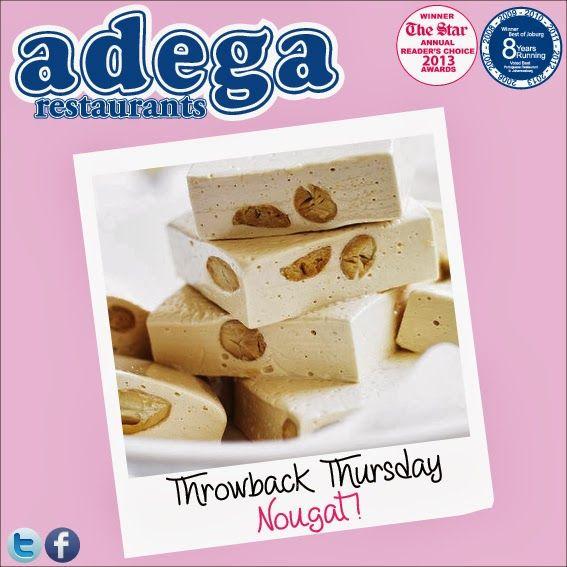 Throwback Thursday - Nougat