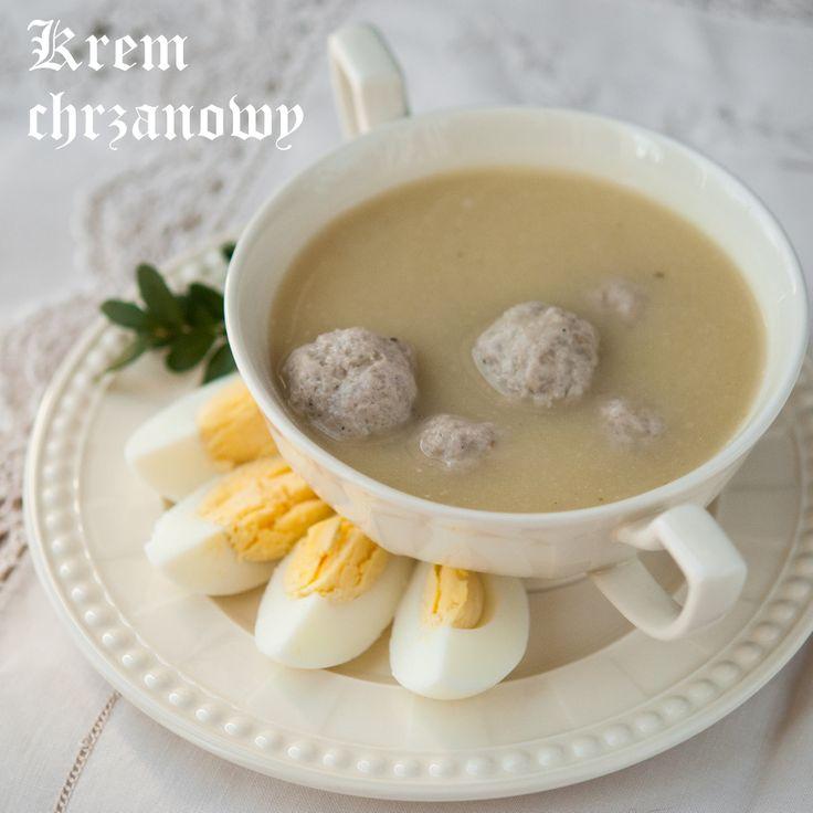 Lepszy Smak: #Zupa krem chrzanowy: Krem Chrzanowi, Zupa Jest, Lepszi Smak, Lepszy Smak, Krem Chrzanowy, Cream Soup, Polska Wielkanoc, Consum, Dzisiaj Zupa