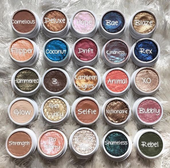 Brand Makeup Professional 20 Color Single Naked Eyeshadow Makeup Shining Glitter Bronzer Super Shock Contour Eye Shadow Palette