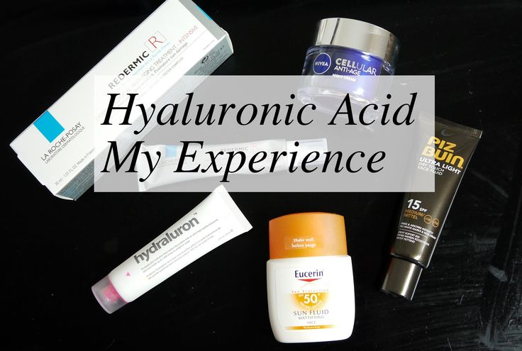 Hyaluronic Acid, My Experience ----bad experience with HA