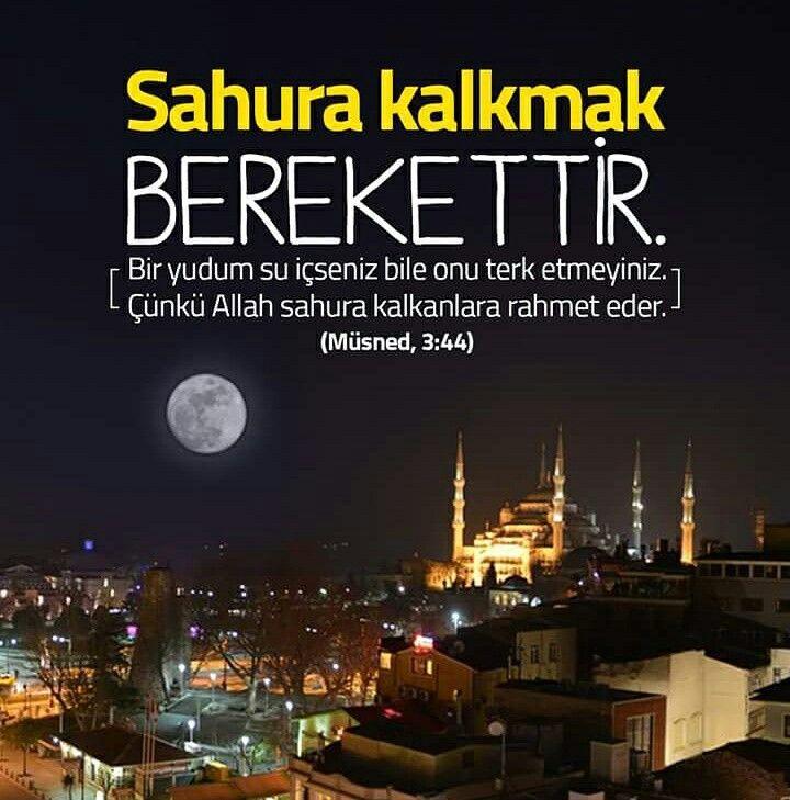 Sahura kalkmak BEREKETTİR.  #sahur #yemek #bereket #gece #kalk #rahmet #Allah #islam #müslüman #ramazan #oruç #hadis #hayırlıramazanlar #ilmisuffa