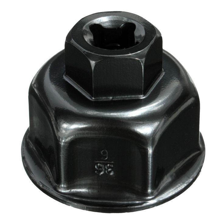36mm 3/8 Zoll Schwarz Auto Ölfilterschlüssel Kappe Sockel Drive Für BMW für Mini Cooper Für Volvo Für Audi