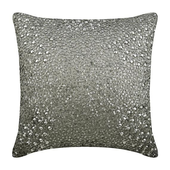 Silk Silver Pillow Case Cover 16x16 Luxury Throw Etsy Silk Throw Pillows Silver Pillows Silk Pillow Cover
