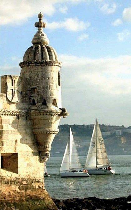 Torre de Belem.. Rio Tejo, Lisboa, Portugal