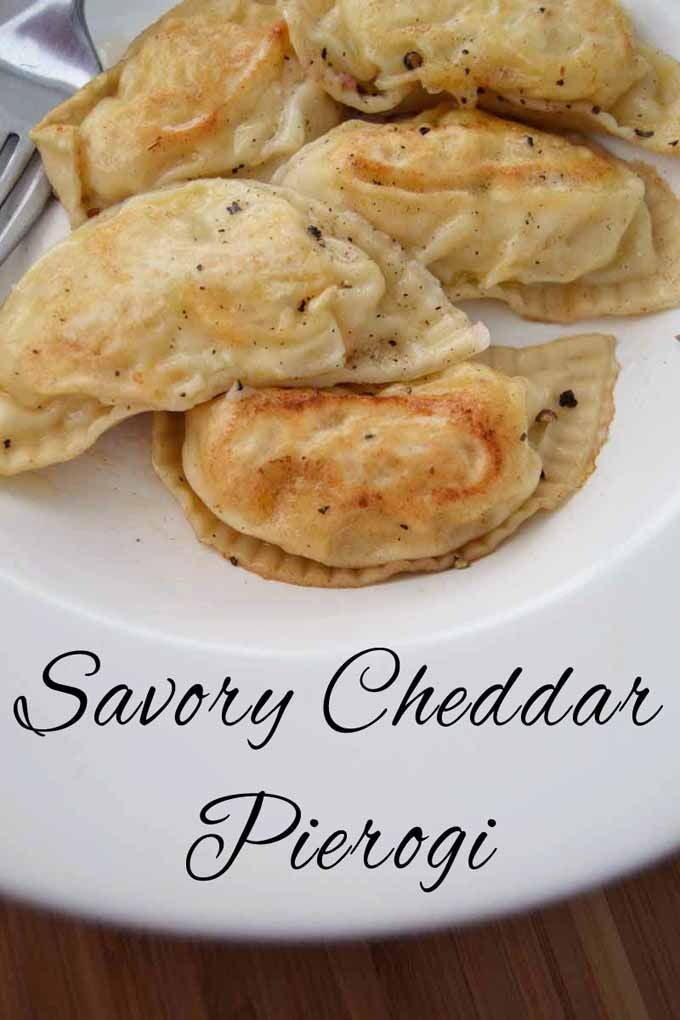Savory cheddar pierogi, made from scratch | Bacon ...