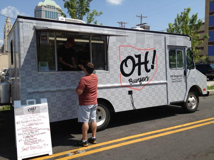 Oh Burgers Food Truck Columbus Ohio