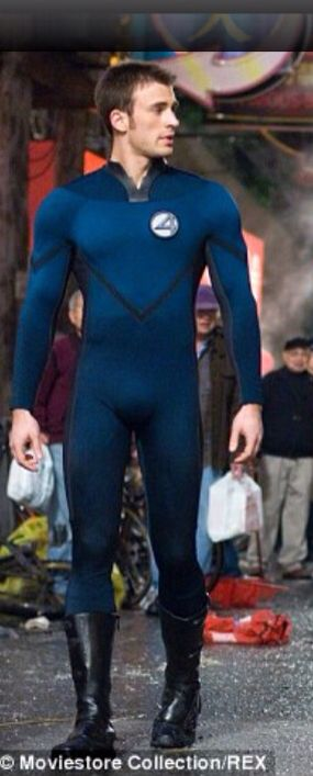 CHRIS EVANS as Johnny Storm (2005 & 2007) - Following his sister, Johnny joined scientist Reed Richards & pilot Ben Grimm on an unauthorized space flight. Riddled with cosmic radiation, Johnny transformed into a flaming monster when the flight crashed back to earth. Calling himself Human Torch in tribute to the World War II era hero of the same name, the youthful Johnny found new adventure as part of the Fantastic Four, proving to be an invaluable if somewhat volatile member of the team.