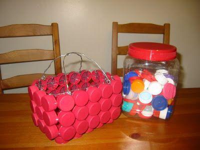 10 Creative Ways To Reuse Plastic Bottle Caps | Tips For Women - Part 11