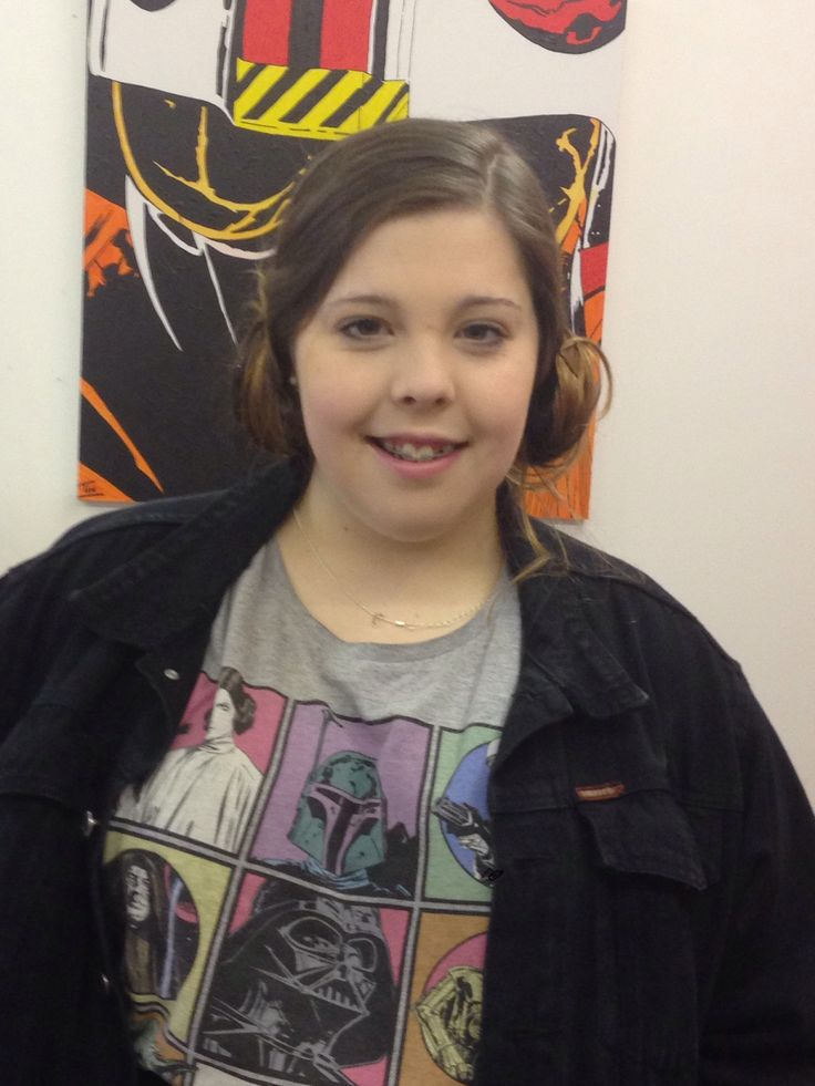 Meet the staff/family  My daughter Caitlin aka Leia Massive Benedict fan works in the shop over the holidays and weekends
