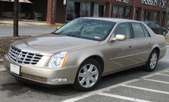 2007 Cadillac DTS - full-size sedan