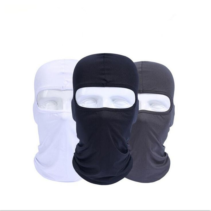 Motorcycle Face Masks Motorcycle Headgear Full Face Mask Summer Breathable Motorcycle Sun-protection Balaclava