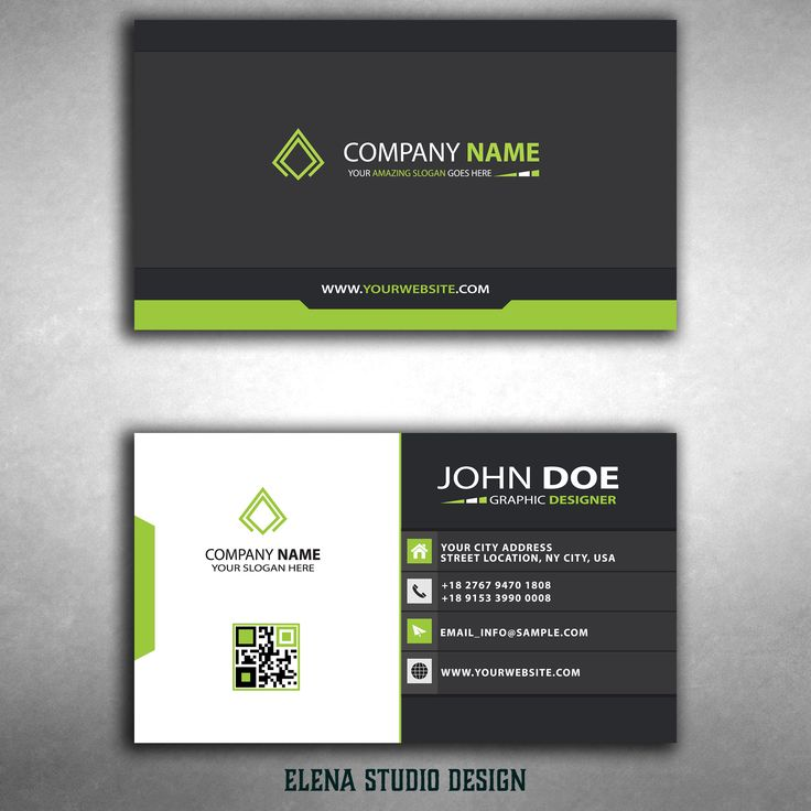 Orizontal Business Card