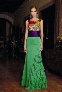 Resultado de imagen para vestidos tipicos mexicanos de gala