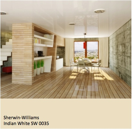 Sherwin Williams Indian White SW 0035 Paint Colors For Dining Rooms Pin