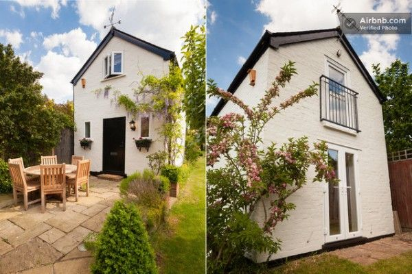 tiny cottage rental uk 600x400   16 Tiny Houses, Cabins and Cottages You Can Rent or Vacation In