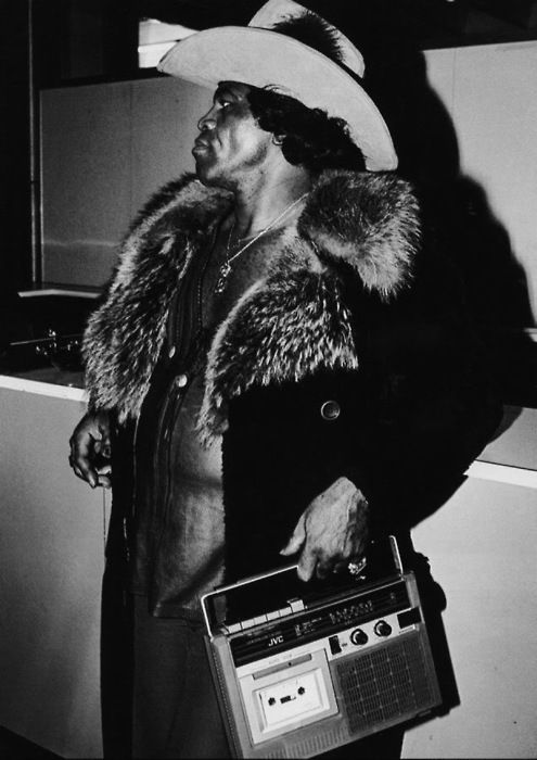 "A very 70s James Brown. One of the founding fathers of funk music and a major figure of 20th-century popular music and dance, he is often referred to as ""The Godfather of Soul""."