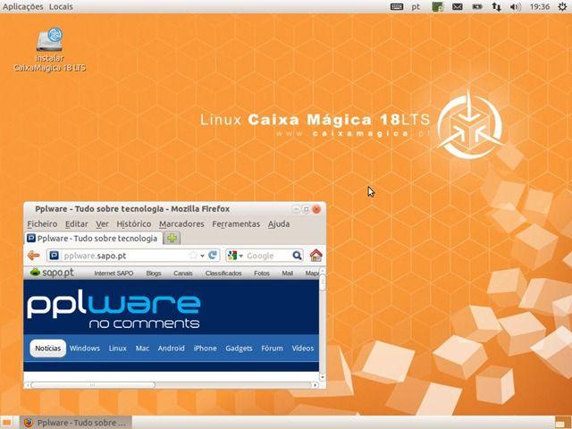 Saiu o Linux Caixa Mágica 18 – O Linux português