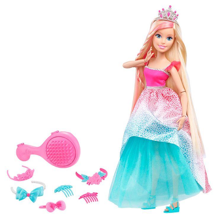 Кукла с длинными волосами Barbie 40см, dkr09