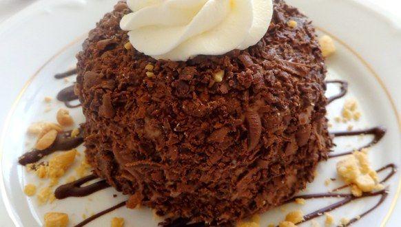 Przepis na Lody czekoladowe z nadzieniem orzechowo-miodowym (z miodem drahimskim #ChOG)