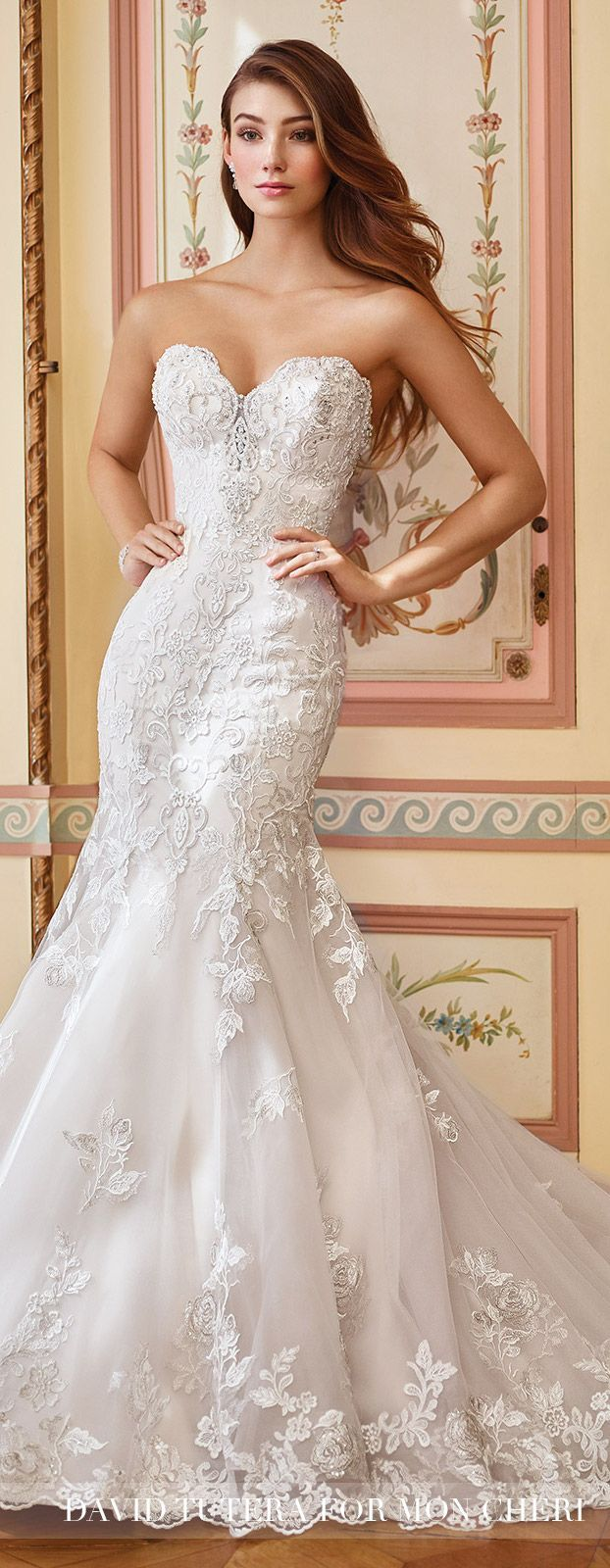 Wedding Dress by David Tutera for Mon Cheri | Style No. » 117284 Danae