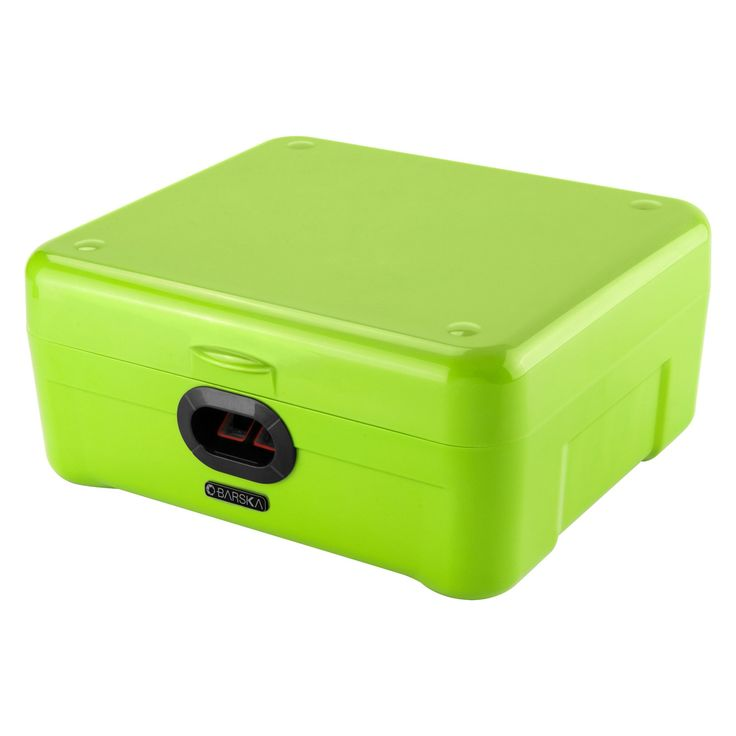 Barska iBox Portable Dual Access Biometric Security box - AX12458