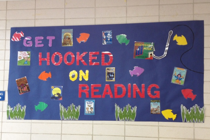 Literacy bulletin board