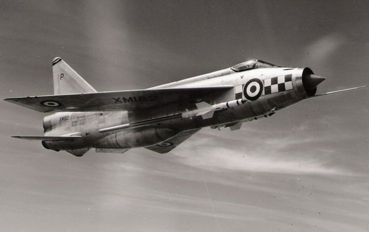 "Lightning F1a 56sqn Royal Air Force ""Firebirds"""