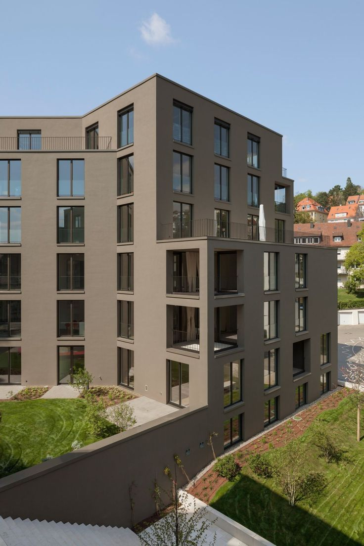 107 best facades stucco plaster paint images on pinterest - Villengarten stuttgart ...