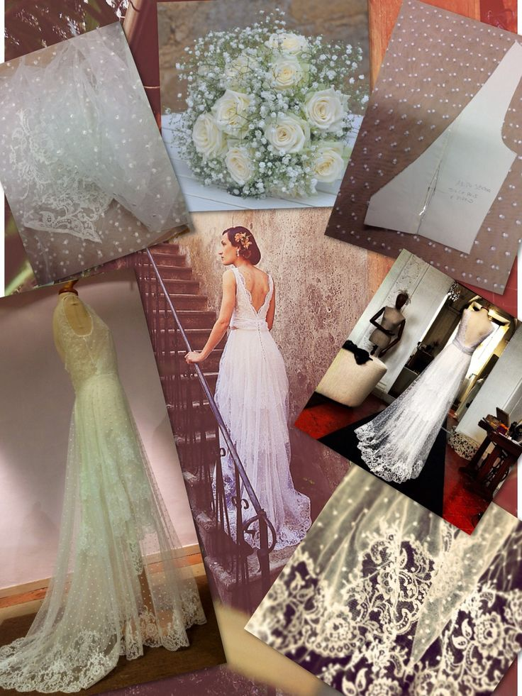 Armonia perfetta tra abito e bouquet....Italian Handmade Wedding Florence...