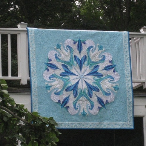 Mary's beautiful quilt!