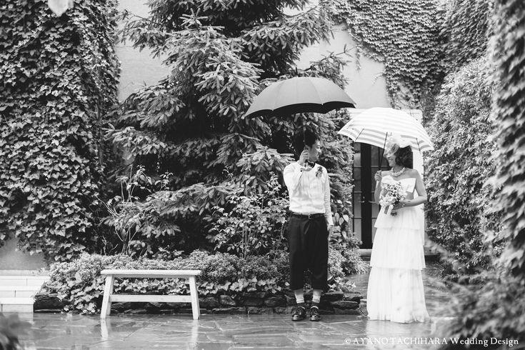 東京ウエディング 雨の日  karuizawa garden Wedding_ハワイウエディング_produced by AYANO TACHIHARA Wedding Design 軽井沢ガーデンウエディング、邸宅ウエディング