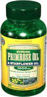 Evening Primrose Oil and Starflower Oil Capsules 1000mg