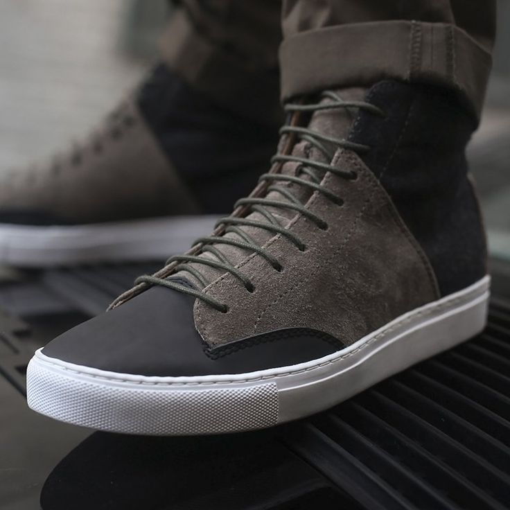 Porter High Top in Slate by Thorocraft · Winter CollectionShoe ...