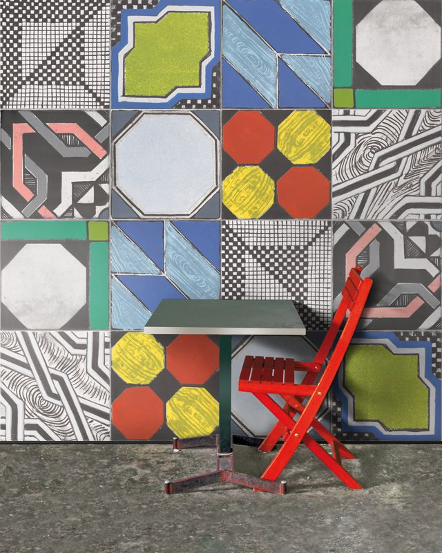 iGattipardi is a glazed porcelain tile series by Italian manufacturer, 14OraItaliana. The iGattipardi series takes its aesthetic cues from the maiolica tiles of Moorish origin that are found across southern Italy. The name is inspired by the classic novel Il Gattopardo by Giuseppe Tomasi di Lampedusa and each design is named after a character in the book.