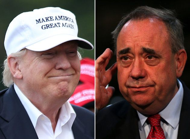 Donald Trump's 16 Obsessive Letters To 'Mad Alex' Salmond About Wind Turbine 'Monsters' In Scotland Revealed By FOI | The Huffington Post
