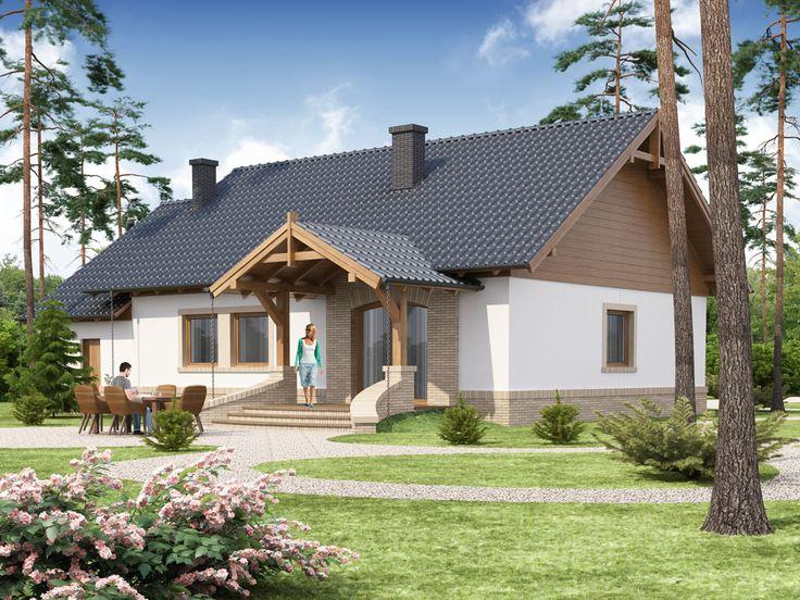 DOM DS2-57 - gotowy projekt domu
