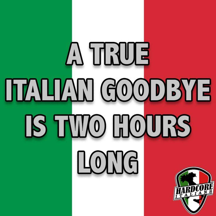 how to write goodbye in italian