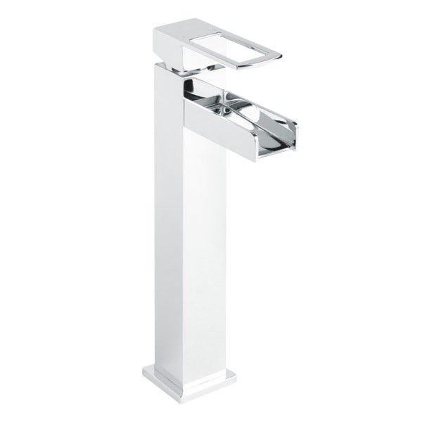 Oasis Waterfall Extended Basin Mixer Tap  | Waterfall Bathroom Taps | Better Bathrooms