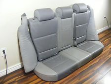 BMW X5 Rear Seat set in gray leather