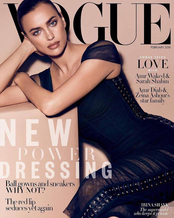 Irina Shayk for Vogue Arabia February 2018 | Art8amby's Blog