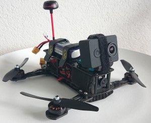 Xiaomi YI Testflug mit dem MiniQuad
