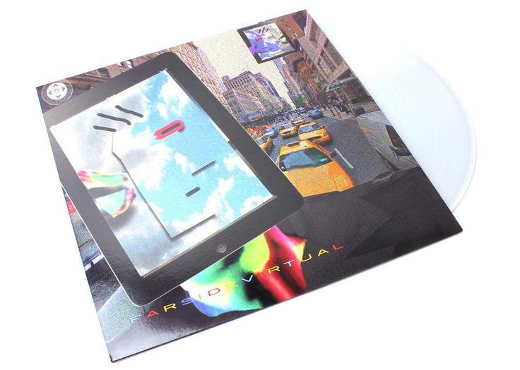 James Ferraro - Far Side Virtual (LP - 180 Gram Clear Vinyl)