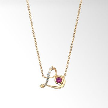 STAR JEWELRY | LADY 'S LOVE NECKLACE : 목걸이
