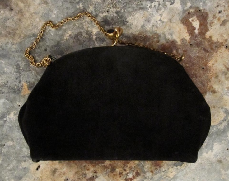 Vintage fabric bag available in Beware of Limbo Dancers  Dkk 100,-
