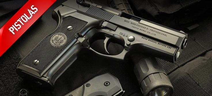Las mejores Pistolas de Gas de Airsoft son las KJWORKS. Te presentamos nuestra selección en estet tablero  #airsoft #pistolas
