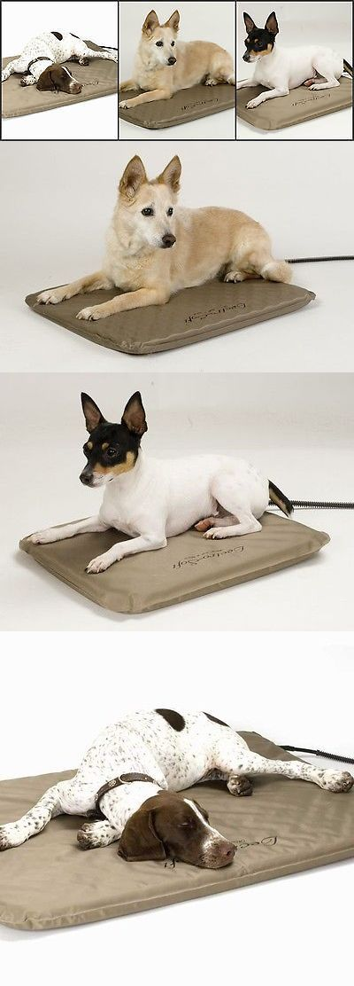 Beds 20744: Kandh Lectro Indoor Outdoor Soft Heated Dog Pet Bed With Cover Small Medium Large -> BUY IT NOW ONLY: $68.95 on eBay!